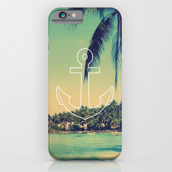 Vintage Summer Anchor iPhone & iPod Case