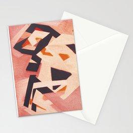 Un Perro Corriendo Stationery Cards