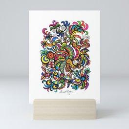Apocalyptic Parrots Mini Art Print