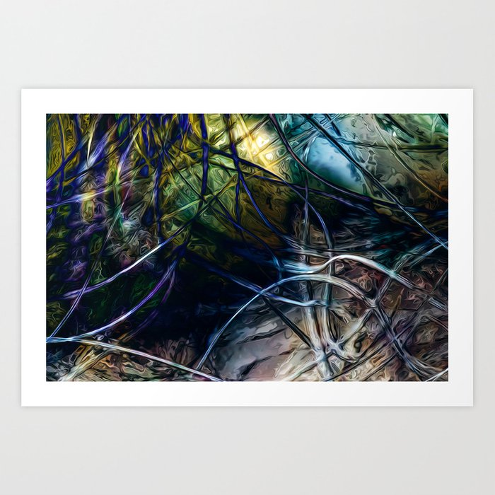 Tangled Web Art Print