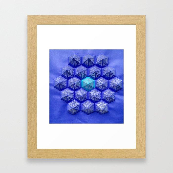 Purple Riegn Framed Art Print
