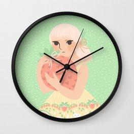Strawberry! Wall Clock
