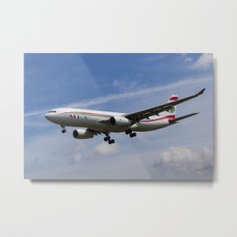 Middle Eastern Airlines Airbus A330 Metal Print