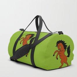 The Fierce Mustang Duffle Bag