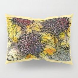 Ukrainian Sunflowers Pillow Sham