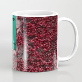 French Window in Autumn Coffee Mug