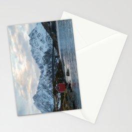 Lofoten winter Stationery Cards