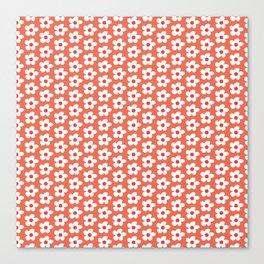 Daisies Field Canvas Print