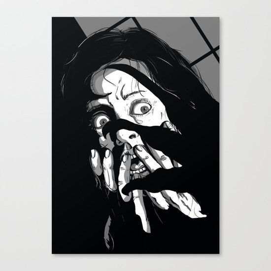 Nightmare(Variant) Canvas Print