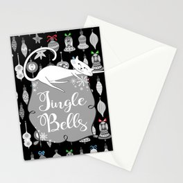 Jingle Bells - Christmas Cats Stationery Cards