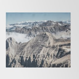 Mountain High Throw Blanket
