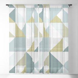 Modern Geometric 15 Sheer Curtain