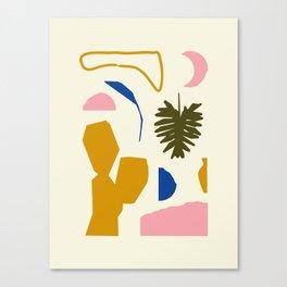 Simple Garden Canvas Print