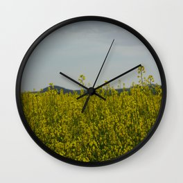 sun in the nature Wall Clock