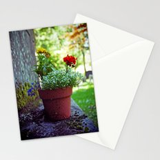 Cemetery plant Stationery Cards
