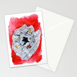 Resistance to Memories Stationery Cards