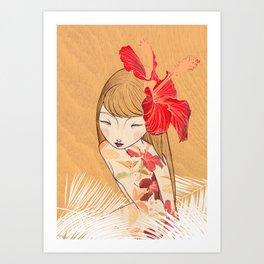 Sharinbai Art Print