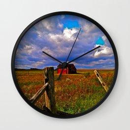 Rockwood Barnscape Wall Clock
