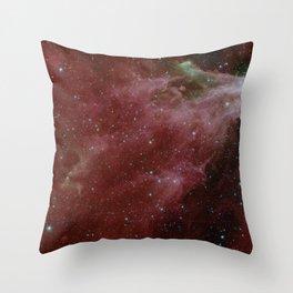 1950. Cepheus C and Cepheus B Region by Spitzer (One-Instrument)  Throw Pillow