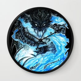The Necromancer Wall Clock