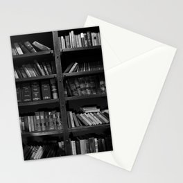 Antique Library Shelves - Books, Books and More Books Stationery Cards