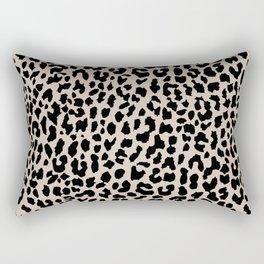 Tan Leopard Rectangular Pillow