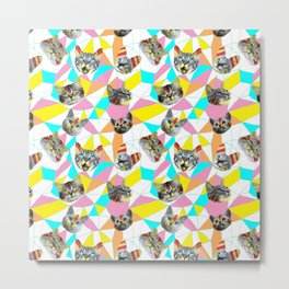 Army Of Cats Metal Print
