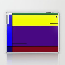 Colorful Line Design Laptop & iPad Skin