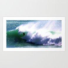 Surf Big Art Print