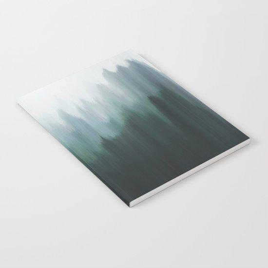 Autumn Fog   Green Edition Notebook