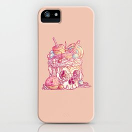 Skull No.3 // The Yummy One iPhone Case