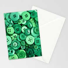 Button Green Stationery Cards