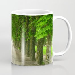The gardens of the castle of Fontainebleau Coffee Mug