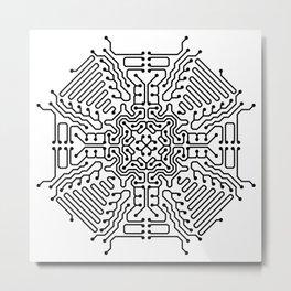 PCB Digital [04] Metal Print