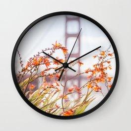Golden Gate Wall Clock