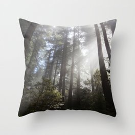 A Spectacle Too Much Throw Pillow