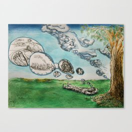 Clouds of The Mind 1 Canvas Print