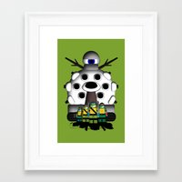 turtles Framed Art Prints featuring Turtles by AWOwens