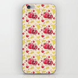 Pomegranates and Bananas iPhone Skin