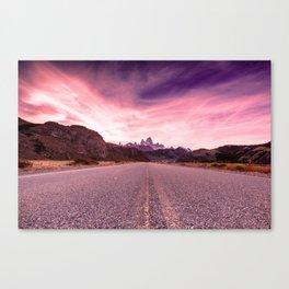 Enter Patagonia Canvas Print