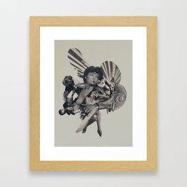 Leisure Burns Framed Art Print