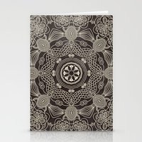 spiritual Stationery Cards featuring Spiritual Mantra by Diego Tirigall