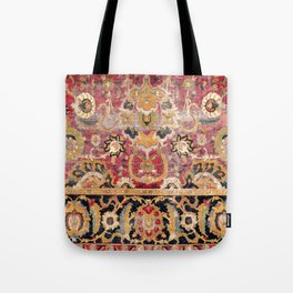 Esfahan Central Persian 17th Century Fragment Print Tote Bag