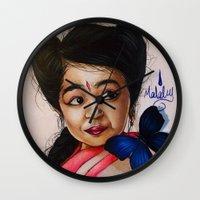 ahs Wall Clocks featuring Ma Petite-AHS by MELCHOMM
