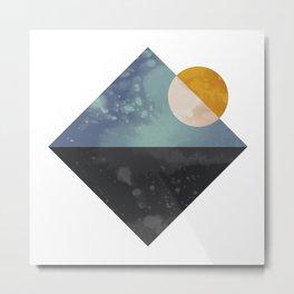 Sea and sun Metal Print