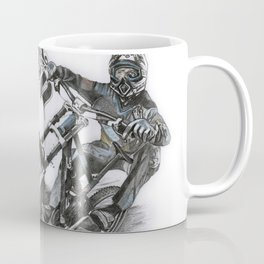 Fox Riders Artwork Coffee Mug