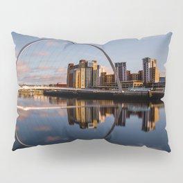 Millennium Bridge Gateshead Pillow Sham