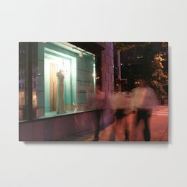 For fast-acting relief, try slowing down. Metal Print