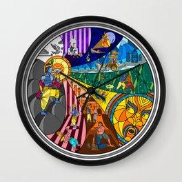 Prince Krishna Wall Clock