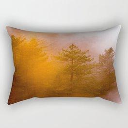 Big Sur Sunset Glow Rectangular Pillow